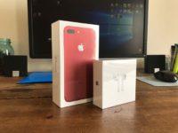 Apple iPhone 7 Plus 128GB rautt